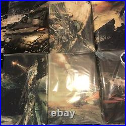 The Expanse Signed and Numbered Books Subterranean Press 1-8 James S. A. Corey