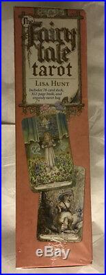 The Fairy Tale Tarot, Lisa Hunt, Book, Deck, Bag, 2009, Brand New Sealed, OOP