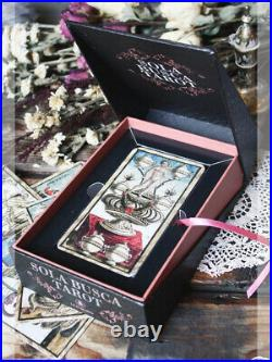 The Game of Saturn Decoding the Sola Busca tarrochi TAROT & BOOK SET
