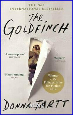 The Goldfinch by Donna Tartt Book The Cheap Fast Free Post