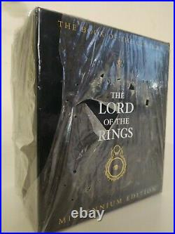 The Lord Of The Rings Millennium Edition Book By JRR Tolkien Mint Condition Rare