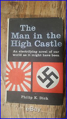 The Man in the High Castle Phillip K. Dick, 1962, 1st. Ed. Book Club Hardcover