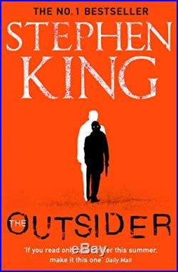 The Outsider The No. 1 Sunday Times Bestseller by King, Stephen Book The Cheap