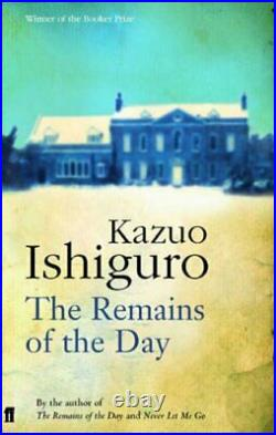The Remains of the Day by Ishiguro, Kazuo Paperback Book The Cheap Fast Free