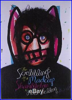 The Scribblings of a Madcap Shambleton by Fielding, Noel Book The Cheap Fast