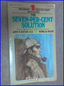 The Seven Per Cent Solution (Coronet Books) by Meyer, Nicholas Paperback Book