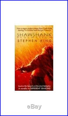 The Shawshank Redemption by King, Stephen Paperback Book The Cheap Fast Free