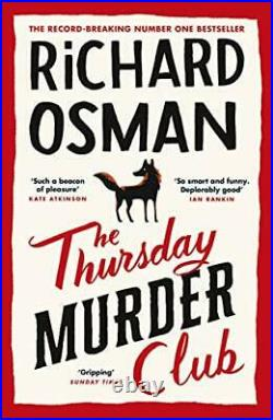 The Thursday Murder Club The Record-Breaking Sunday Times. By Osman, Richard