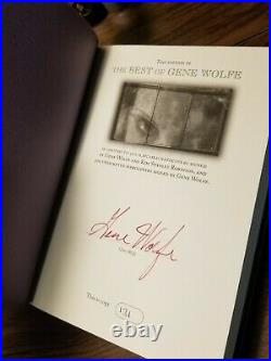 The Very Best of Gene Wolfe PS Publishing SIGNED NUMBERED Limited First / 1st