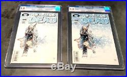 The Walking Dead LOT #7 1st & 2nd print Both CGC 9.8 NM/MT (2 Books)