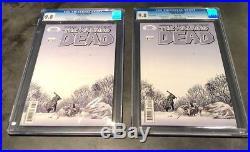 The Walking Dead LOT #8 1st & 2nd print Both CGC 9.8 NM/MT (2 Books)