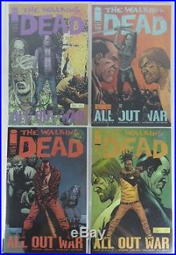 The Walking Dead Lot 97-129, 131&163 (41 BOOKS) SOMETHING TO FEAR NEGAN COVERS