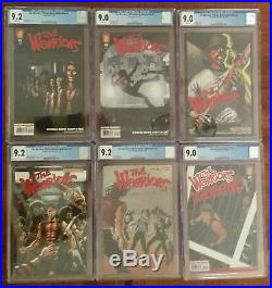 The Warriors Movie Adaptation Comic Books #1,2,3,4,5 & Jailbreak -CGC 9.0 &9.2