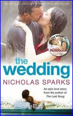 The Wedding (Calhoun Family Saga) by Nicholas Sparks Paperback Book The Cheap