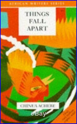 Things Fall Apart (African Writers Series) by Achebe, Chinua Paperback Book The