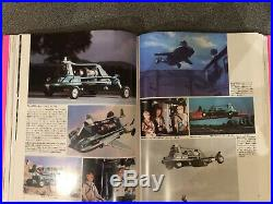 Thunderbirds Pink book Japanese Gerry Anderson