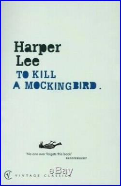 To Kill A Mockingbird (Vintage Classics) by Lee, Harper Paperback Book The Cheap