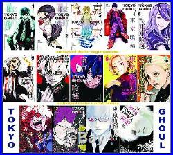 Tokyo Ghoul MANGA Series Collection Set Books 1-14 Paperback By Sui Ishida NEW