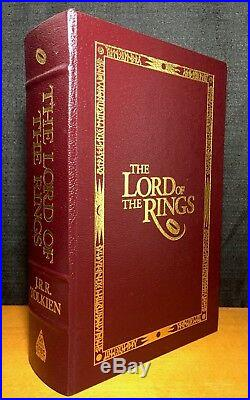 Tolkien -The Lord of the Rings 2004 Deluxe Science Fiction Book Club Edition VG+
