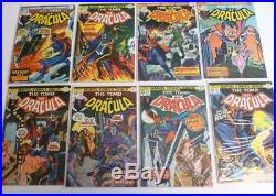 Tomb of Dracula Lot 2-7, 9, 11-70 Near Complete Run 67 Books