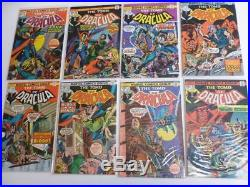 Tomb of Dracula Lot 2-7, 9, 11-70 Near Complete Run 67 Books