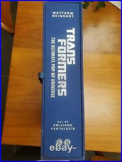 Transformers the ultimate guide Pop Up Matthew Reinhart