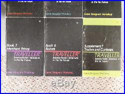 Traveller RPG 10 Great lots to choose from. GDW Classic Rule Books 1-8 lot, Rare