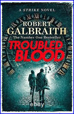 Troubled Blood (Cormoran Strike 5) by Galbraith, Robert Book The Cheap Fast Free