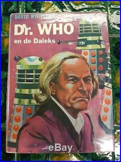 UBER RARE Dr Who EN DE DALEKS Hardback! 1964 Dutch Doctor who and the daleks