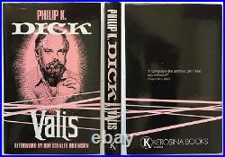 VALIS Philip K Dick Kerosina Trade Ed Kim Stanley Robinson SIGNED HC NEW NICE
