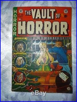 VAULT OF HORROR #35 EC Comic Book GOLDEN AGE COMICS 1954 NICE BOOK