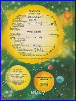 VERY RARE The Dalek Outer Space Book, 1966. Doctor Who