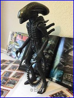 VINTAGE RARE 1979 Kenner Alien Figure Cards Magazines Starlog Giger Book