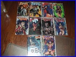 Vampirella & Related / Vamperotica 106 Book Collection-harris/dynamite Bad Girl