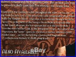Vampyr Book Replica Keepsake Box Buffy The Vampire Slayer Factory X BTVS