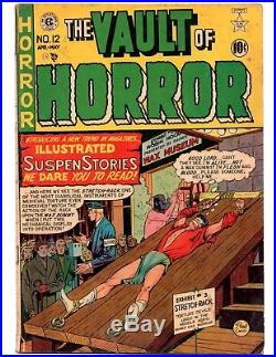Vault Of Horror 12 (ec 1/1950) Hot Precode Horror Book, Vg- 3.5 Scarce