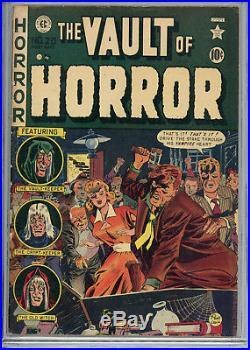 Vault of Horror #20 (EC, Aug/Sept 1952) CGC 4.5 (OW) Vintage Comic Book