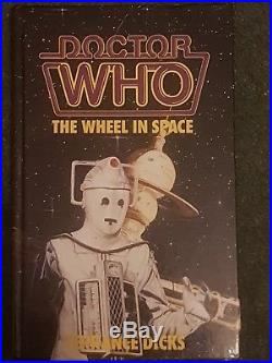 Very Rare Dr Doctor Who The Wheel in Space HARDBACK 1988 vgc Terrance Dicks H/B
