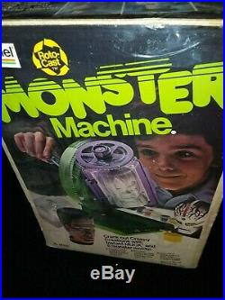 Vintage 1977 Gabriel Roto-Cast Monster Machine 5 Monster Molds Instruction Book