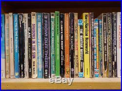 Vintage Sci-Fi Novels HUGE Collection Of 223 Books! (ID2092)