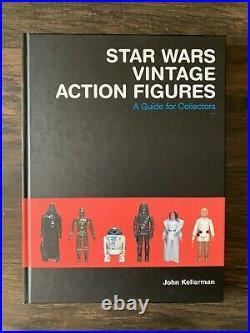 Vintage Star Wars Action Figure Collectors Book By John Kellerman