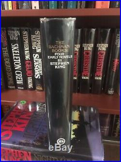 WOW! Stephen King The Bachman Books TRUE First Edition $19.95 NAL (NEAR FINE)