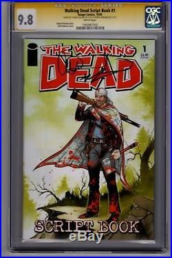 Walking Dead Script Book 1 CGC SS 9.8 Signed by Robert Kirkman & Charlie Adlard