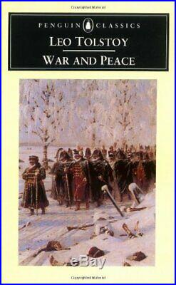 War and Peace (Penguin Classics) by Tolstoy, Leo Paperback Book The Cheap Fast
