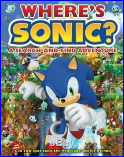 Where's Sonic A Sonic the Hedgehog Search-and-find Adventure Book The Cheap