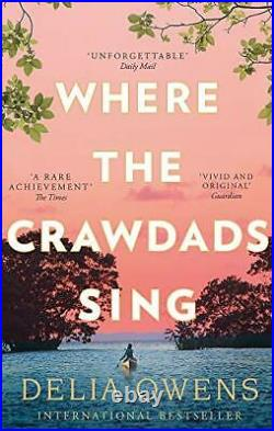 Where the Crawdads Sing by Delia Owens Book The Cheap Fast Free Post