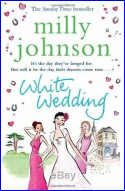 White Wedding by Johnson, Milly Book The Cheap Fast Free Post
