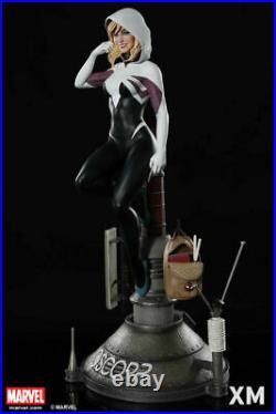 XM Studios Spider Gwen Stacy 1/4 Spider man Mary Jane Black Cat + Sideshow Book