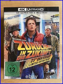 Zurück In Die Zukunft Trilogie (4K Ultra HD Blu-ray Steelbook Collection)