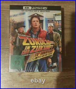 Zurück in die Zukunft Trilogie 4K + Blu Ray Limited Steelbook Collection Neu OVP